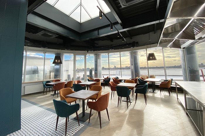 Панорамная ротонда кулинарной студии GastroLOFT